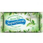 Влажные салфетки Super Fresh Green Tea 15