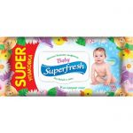 Влажные салфетки Super Fresh (для детей и мам) 120