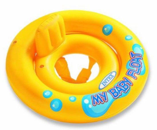 Круг для плавания Intex Мой маленький плот 59574