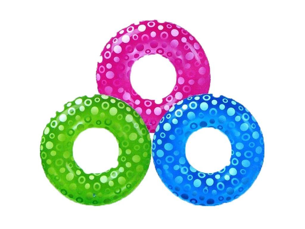 Круг для плавания Intex Clear Color 59251