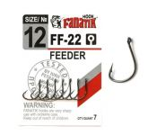 Крючки Fanatik Feeder №12 7шт FF-22