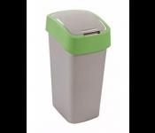 Контейнер для мусора Flip Bin 50L зеленый