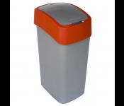 Контейнер для мусора Flip Bin 50L оранжевый