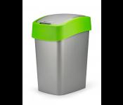 Контейнер для мусора Flip Bin 10L зеленый