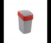 Контейнер для мусора Flip Bin 10L красный