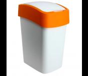 Контейнер для мусора Flip Bin 10L оранжевый