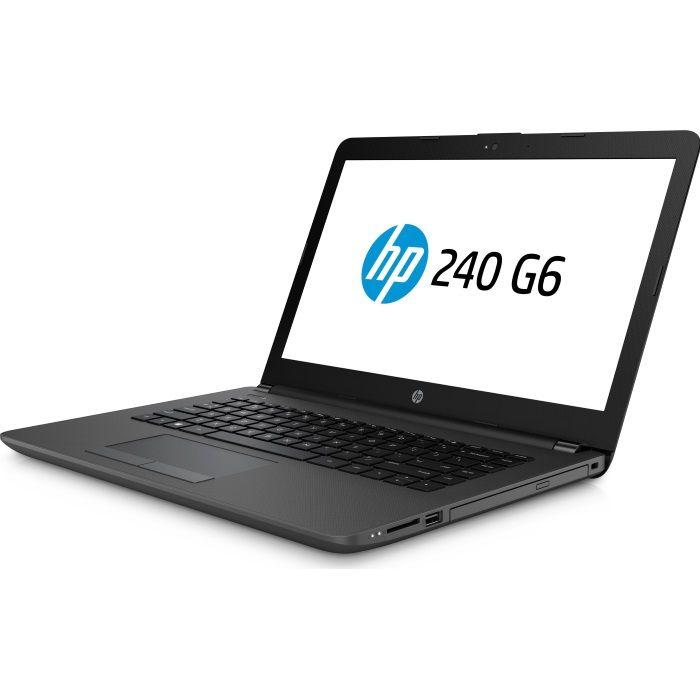 Ноутбук HP 240 G6  black [4BD02EA]