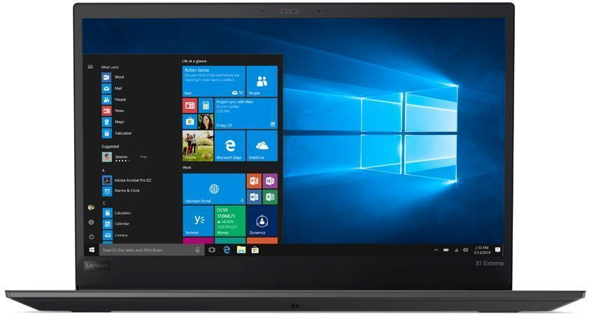 Ноутбук Lenovo ThinkPad X1 Extreme [20MF000XRT] black