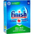 Таблетки для посудомоечных машин Finish All in 1 без запаха 70 шт