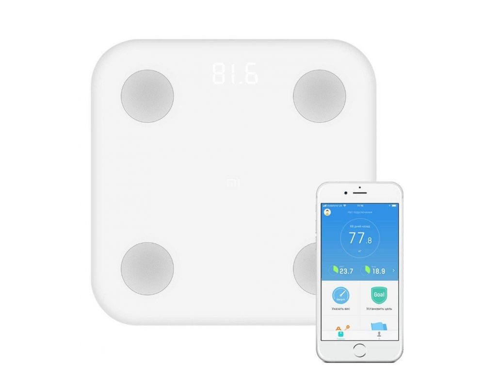 Напольные весы Xiaomi Mi Body Composition Scale