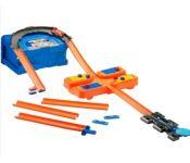 Автотрек Mattel Hot Wheels Конструктор трасс Супер петля FLK89