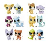 Фигурка Hasbro Littlest Pet Shop 1 серия B9389