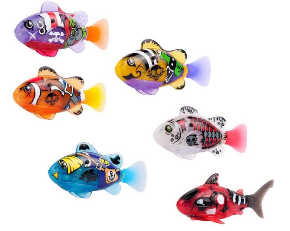 Интерактивная игрушка Zuru Роборыбка пираты 25111к