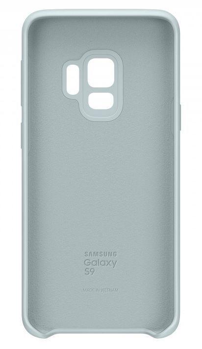 Чехол (клип-кейс) Samsung для Samsung Galaxy S9 Silicone Cover синий (EF-PG960TLEGRU)