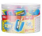 Точилка для карандашей ручная Deli ER00106 1 отверстие
