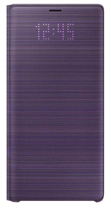 Чехол (флип-кейс) Samsung для Samsung Galaxy Note 9 LED View Cover Crown фиолетовый (EF-NN960PVEGRU)