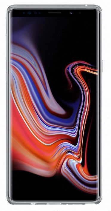 Чехол (клип-кейс) Samsung для Samsung Galaxy Note 9 прозрачный (EF-QN960TTEGRU)