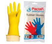 Перчатки латексные Paclan Professional L (упак.:1 пара) желтый (407849) Мин. заказ: 100