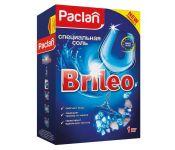 Соль Paclan Brileo 1кг (419151) для посудомоечных машин