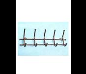 Вешалка Норма-5 медь металл,5крючк.480х170х80мм