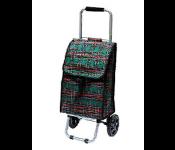 Тележка-сумка D203 Клетка 30кг 37х27х84см