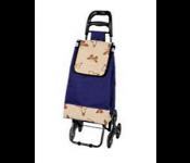 Тележка-сумка А204 3колеса,Бабочки 30кг37х28х36