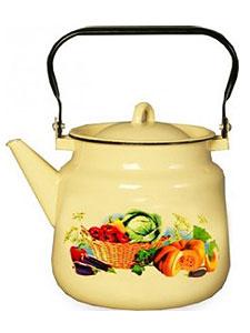 Чайник 3,5л 1с26с Урожай сер-голуб.