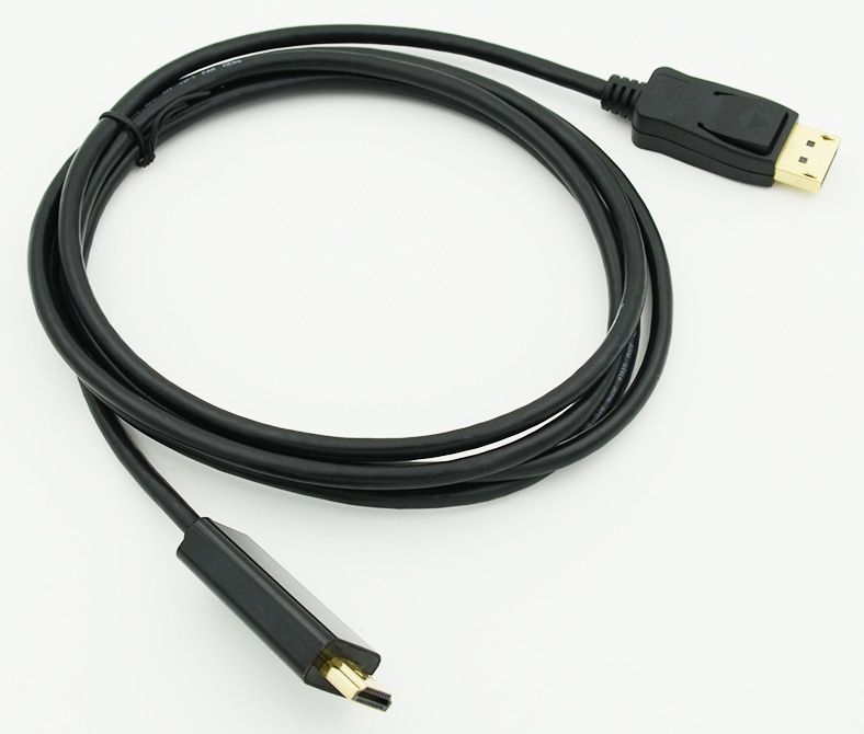 Кабель HDMI HDMI19 (m)/DisplayPort (m) 1.8м