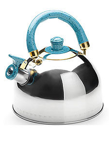 Чайник 3,0л со свистком МВ1622  нерж.