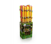 Свеча уличная  на трости HELP аромат. 70 см