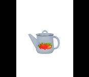 Чайник 1,0л 1С202с Клубника садовая серо-гол.