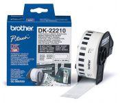 Наклейки адресные Brother (DK22210) для QL-500 29mm 30.48m white