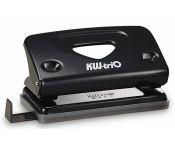 Дырокол Kw-Trio Classic Mini 941BLCK макс.:10лист. металл черный отв.:2 с линейкой