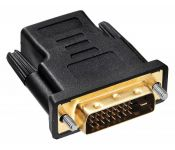 Адаптер Buro HDMI-19FDVID-M_ADPT HDMI-19M(F)/DVI-D(M) с позол. конт.