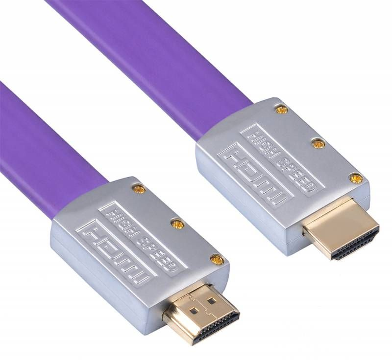 Кабель аудио-видео Buro HDMI (m)/HDMI (m) 5м. черный (HDMI 19M-19M V1.4 FL)