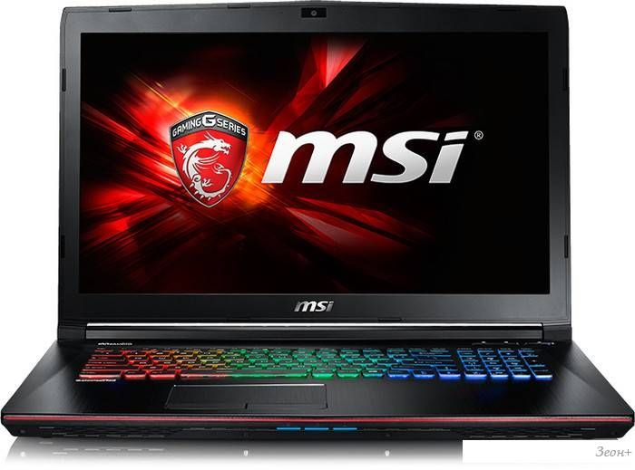 Ноутбук MSI GE72 6QF-229RU Apache Pro