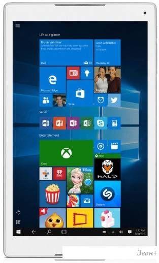 Планшет Alcatel Plus 10 32GB LTE (серебристый)