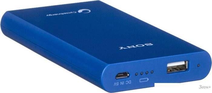 Портативное зарядное устройство Sony CP-E6 (синий) [CP-E6/BL]