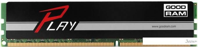 Оперативная память GOODRAM Play 4GB DDR4 PC4-19200 [GY2400D464L15S/8G]