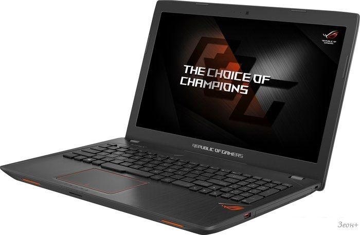 Ноутбук ASUS GL553VE-FY056T