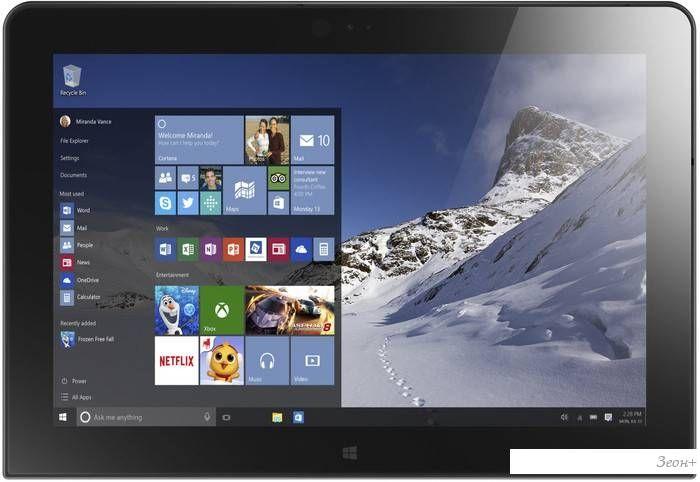 Планшет Lenovo ThinkPad 10 (2nd Gen) 64GB [20E3003QRT]