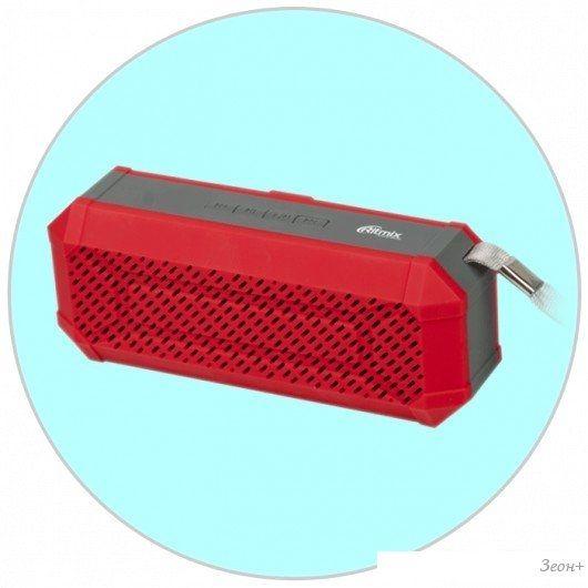 Беспроводная колонка Ritmix SP-260B (красный)