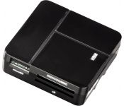 Кардридер Hama Basic USB 2.0 (черный) [94124]
