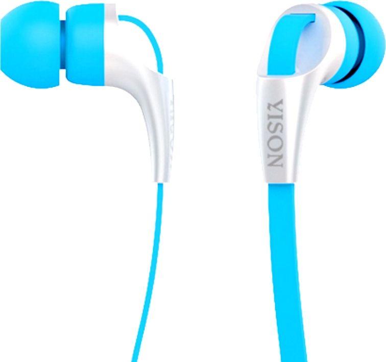 Наушники с микрофоном Yison CX330 (синий)