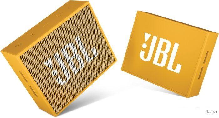 Беспроводная колонка JBL Go (желтый)