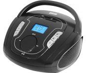 Портативная аудиосистема Mystery BM-6008UB (черный/серый)