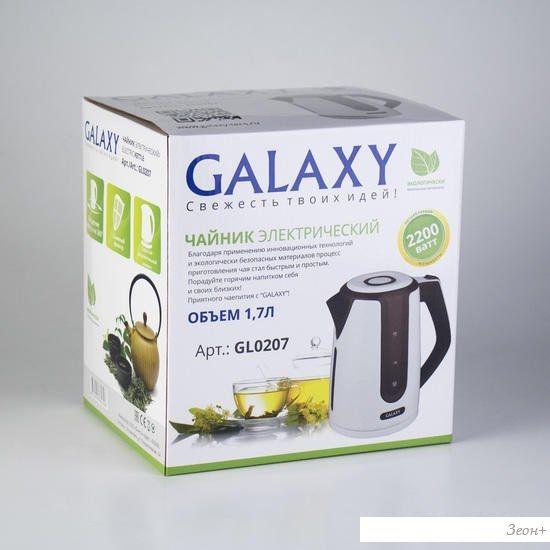 Чайник Galaxy GL0207 (черный)