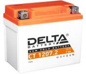 Мотоциклетный аккумулятор Delta CT 1207.2 (7 А·ч)