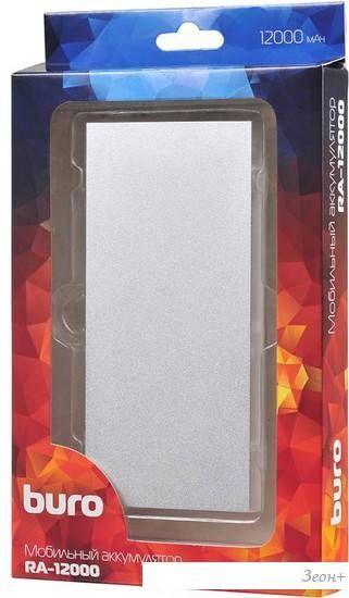 Портативное зарядное устройство Buro RA-12000-AL
