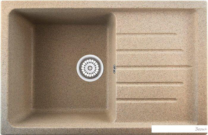 Кухонная мойка Berge 7602 (песочный)